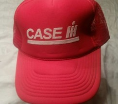 Case IH Hat Cap Red Snapback International Harvester Combine Tractor Farm - $9.74