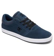 DC Shoes Mens CRISIS Skate Shoes DARK GREEN SHOE 8 ADYS100029 SUEDE - $44.99