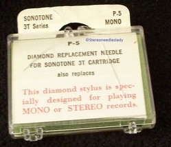 STEREO RECORD STYLUS NEEDLE for Sonotone 3T Sonotone N3T 78 RPM 802-DS73 image 2