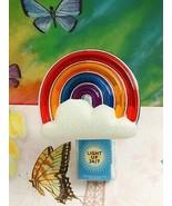Bath Body Multicolor Cloud Rainbow Works Nightlight Wallflower fragrance... - $22.43