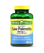 Spring Valley Whole Herb Saw Palmetto Capsules, 450 mg, 200 Ct.+ - $20.99