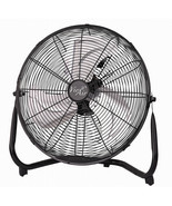 Vie Air 14 Inch Industrial High Velocity Heavy Duty Metal Floor Fan with 3 Spee - $70.30