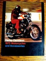 1973 Harley-Davidson Motorcycles Accessory Accessories Brochure, Origina... - $29.70
