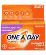 One A Day Womens Multivitamin Multimineral 100 Tablets. Free Shipping - $12.47