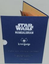 Lovepop LP2473 The Child Star Wars Mandalorian Pop Up Card White Envelope image 5