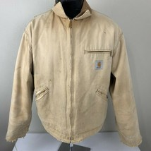 Vintage Carhartt Jacket Blanket Lined Insulated Chore Coat Work Union Ma... - $89.99