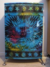 Celestial Boho Astral Sun Moon Tapestry Decoupage Large Drawer Dresser F... - $517.83