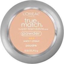 L'Oreal Paris True Match Super Blendable Powder Compact Warm W1 to W8 You Choose - $9.95