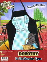 The Wizard of Oz Dorothy Be The Character Adult Polyester Apron, NEW SEALED - $11.64