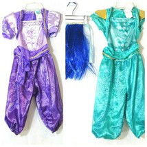Lot of 2 Rubies Nickelodeon Simmer And Shine Costume Dress-up Girl Size ... - $24.73