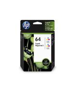 HP 64 Ink Cartridge, Dye-based tricolor - 2-pack - $33.99