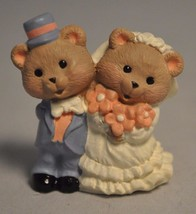 Hallmark - Newly Weds - Two Bears - QFM 8067 - Merry Miniature - $8.54