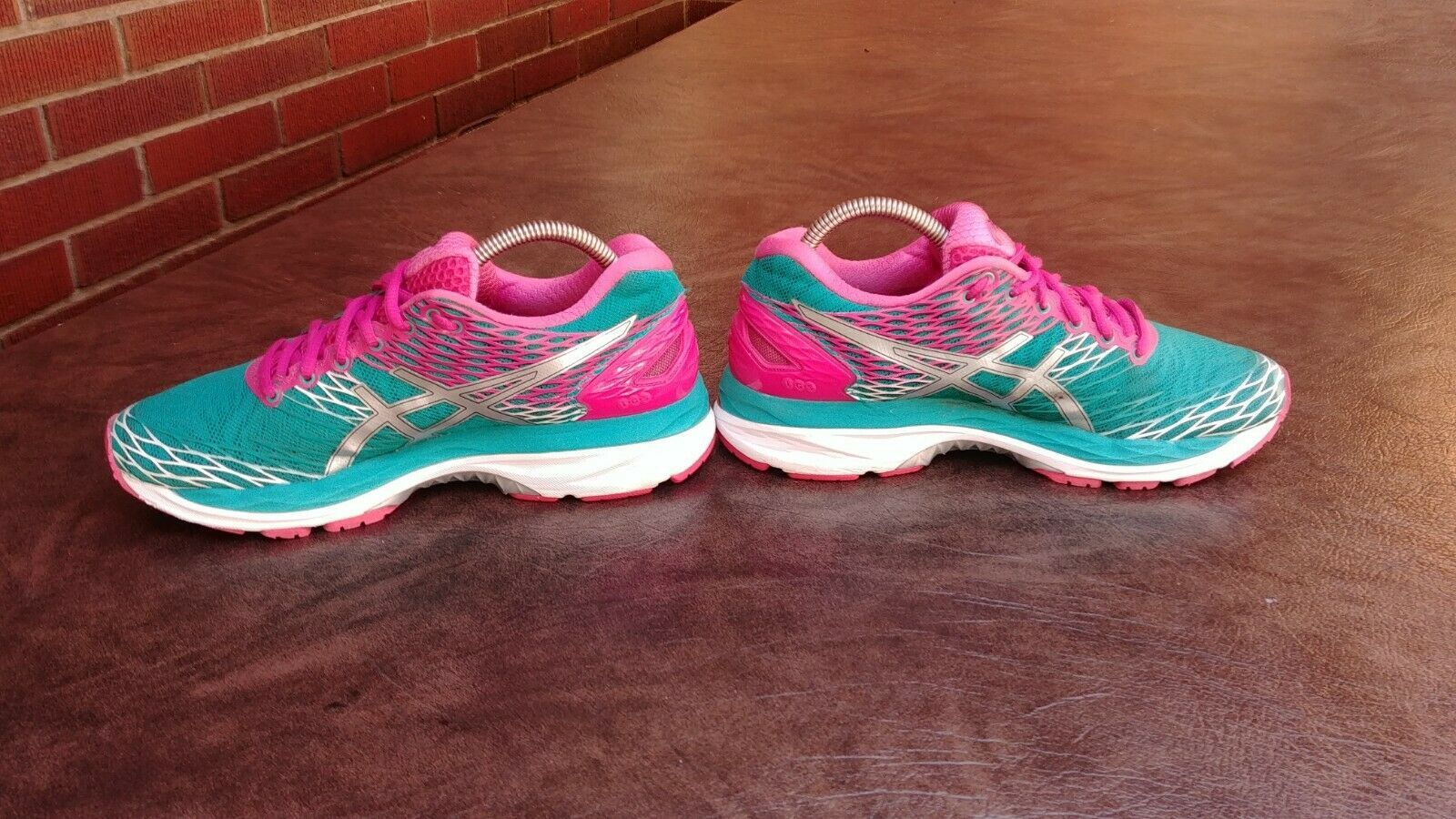 Womens Asics Gel Nimbus 18 Running Shoes SZ 7 Used Sneakers Trainers image 5