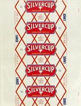 Vintage bread wrapper SILVERCUP ENRICHED BREAD trophy New York Detroit C... - $8.99