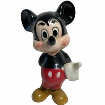 Vtg Walt Disney Productions Mickey Mouse Ceramic Figure Figurine Porcela... - $49.49