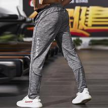New Fitness Men Joggers Sweatpants Thin Gray Sportswear Jogger Pants Men Casual  - $64.95+