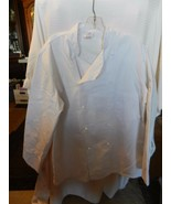 Unisex Adult White Chef Jacket Button Front Size Small from Superior Uni... - $37.13
