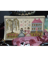Tea For Two cross stitch chart Abby Rose Designs - $9.00