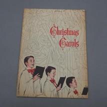 Vintage John Hancock Mutual Life Insurance Christmas Carols Booklet Adve... - $4.94