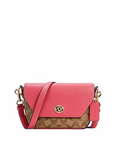 COACH Signature Leather Karlee Crossbody Purse - #C2816