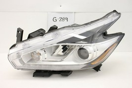 Oem Headlight Headlamp Head Lamp Light Led 15 16 17 18 Nissan Murano Hid Scratch - $445.50