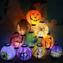 Mix&equipment LED Paper Pumpkin Bat Lantern Halloween - $5.22+