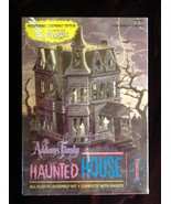 The Addams Family Haunted House - 1995 Polar Lights - unopened model kit - $75.00
