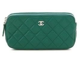 165c44dc1cb66c 71 Auth Chanel bag chain wallet shoulder bag lambskin - $2,455.92