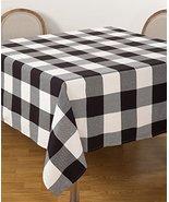 "Fennco Styles Holdiay Buffalo Check Plaid Design Cotton Tablecloth (70"" ... - $48.50"