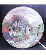"Thomas Kinkade Illuminated Cottages "" The Flagstone Path "" Bradford Exch... - $29.77"