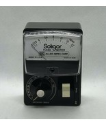 Vintage Soligor Flash Meter With Case Made In USA  Allied Impex Corp. - $14.03