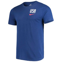Nike USA Pride Crest T-Shirt - Navy Blue/Red - $32.00