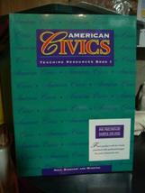 American Civics (Teaching Resources Book I [Paperback] [Jan 01, 1996] Ho... - $29.77