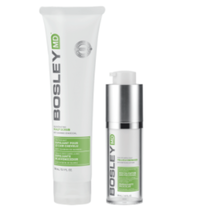 Bosley Follicle Energizer and Rejuvenating Scalp Scrub Duo
