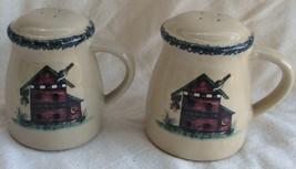 Ceramic Salt & Pepper Shakers Handles  - £15.46 GBP