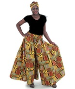 Kente pallazo pants thumbtall