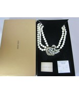 HEIDI DAUS A Swan Song Crystal-Accented Beaded Necklace (Orig.$289.95) - $124.73