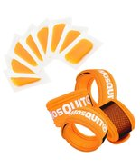 Mosquito Repellent Reusable Bracelet 4 Pcs and Refills 8 Pcs - Premium Q... - $14.47