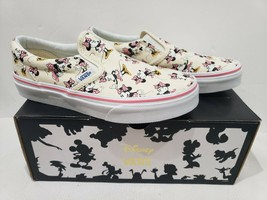 KIDS VANS Disney Authentic Minnie Mouse Classic Slip On Shoes Size 2 - $129.99