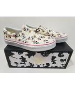 KIDS VANS Disney Authentic Minnie Mouse Classic Slip On Shoes Size 2 - $129.99