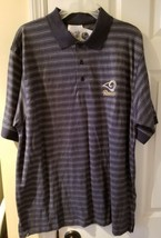 Licensed NFL St. Louis Rams Golf Polo Shirt - Large - $9.99