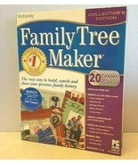 Family Tree Maker Encore Ancestry GENEOLOGY COLLECTOR'S EDITION 2004 NEW... - $39.55