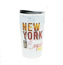Starbucks New York Empire State NY Wall Ceramic Local Traveler Coffee Cu... - $76.23