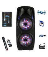 "beFree Sound 10"" Battery Powered Portable Bluetooth PA Speaker - $246.30"