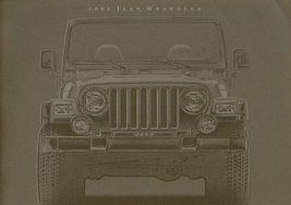 2002 Jeep WRANGLER sales brochure catalog US 02 SE Sport Sahara - $12.00