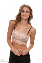 Stretch Lace Bandeau - Cami Cleavage Cover - $18.00