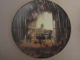 THE SPRING BUGGY collector plate MAURICE HARVEY Country Nostalgia - $19.99