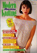 Modern Machine Knitting Jun 1988 Magazine Childs Mouse Sweater and more - $5.69