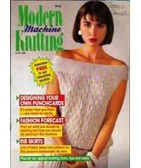 Modern Machine Knitting Jun 1988 Magazine Childs Mouse Sweater and more - $5.69