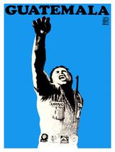 "11x14""Decoration Poster.Interior design art.Political Guatemala.Blue.6353 - $12.00"